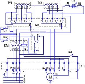 Схема подключения регулятора скорости вращения вентилятора РСВТ